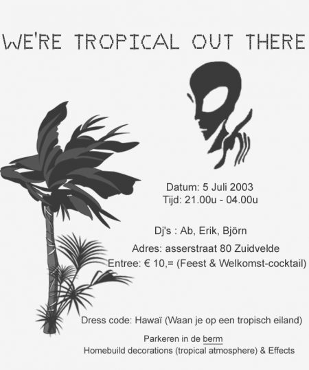 2003 We're Tropical Out There
